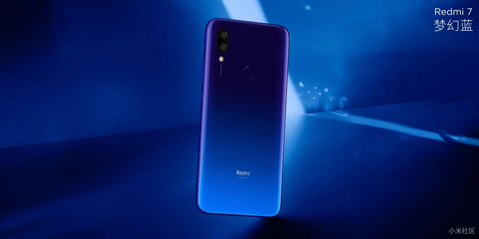 Redmi 7 launched in China with Snapdragon 632 & dual cameras