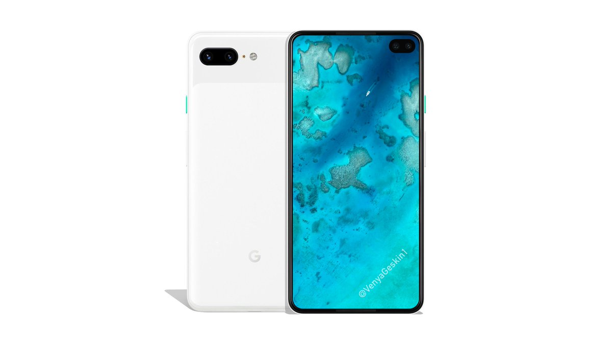 Is this how the Google Pixel 4 (or Pixel 4 XL) going to look like?