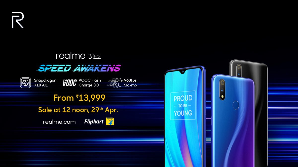 Realme 3 Pro with Snapdragon 710 & VOOC Flash Charge launched