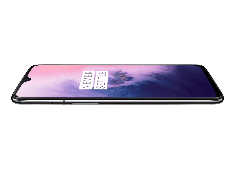 OnePlus 7 (non-Pro) press renders reveal waterdrop notch & dual cameras