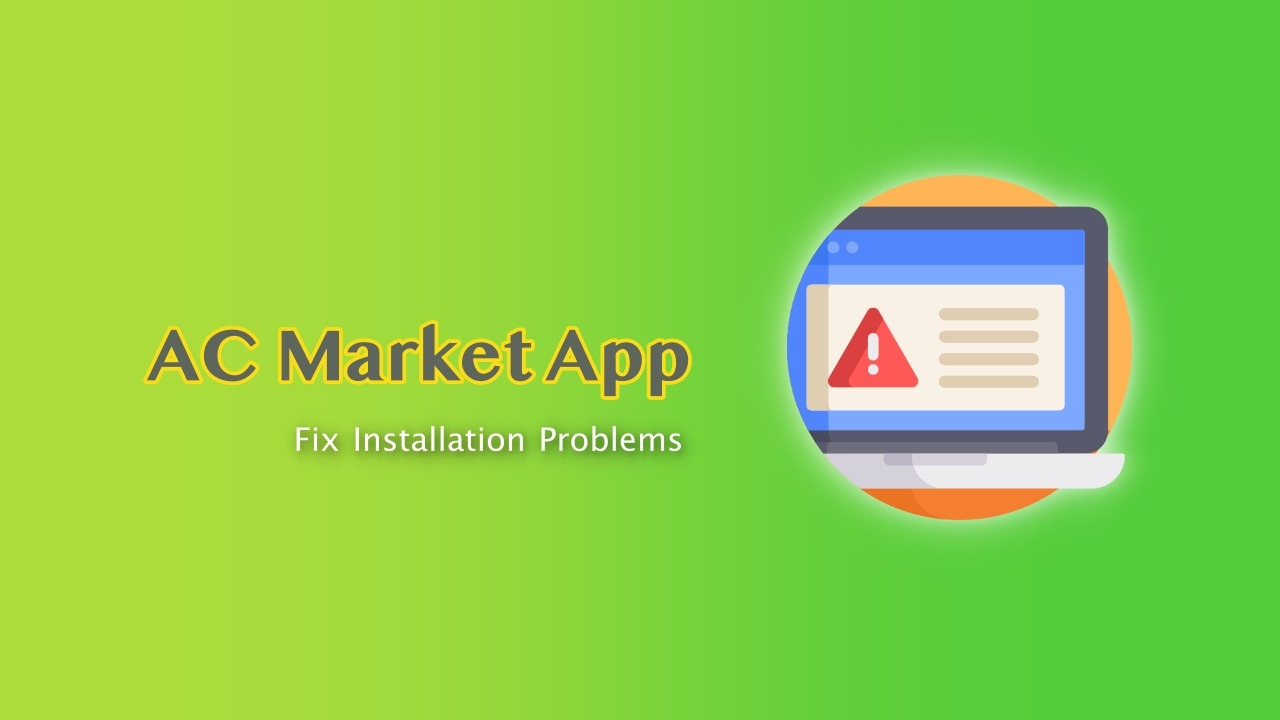 Fix Problem Parsing the Package and Other ACMarket Installation Errors