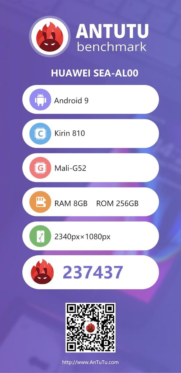 Kirin 810 AnTuTu Score