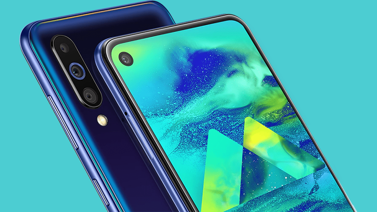 Samsung Galaxy M40 official with Infinity-O screen & Snapdragon 675