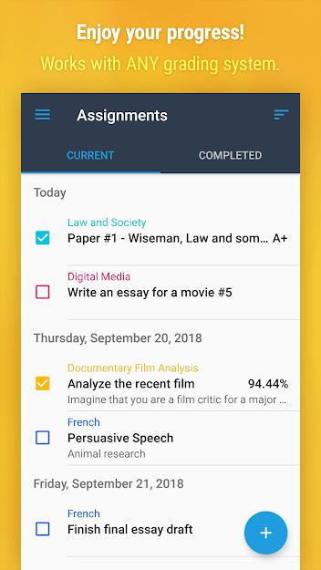 Study Organization Apps