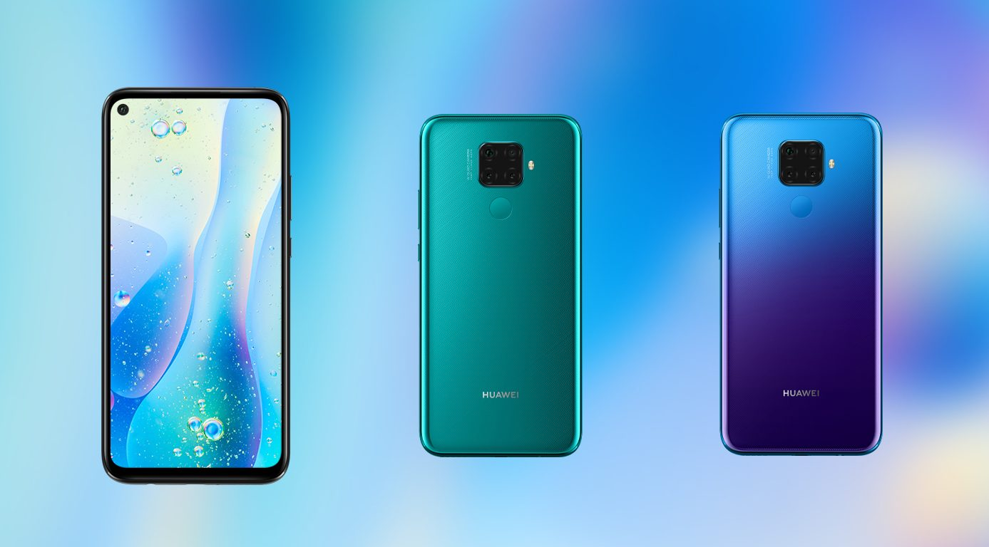 Huawei Nova 5i Pro with Quad rear cameras now official