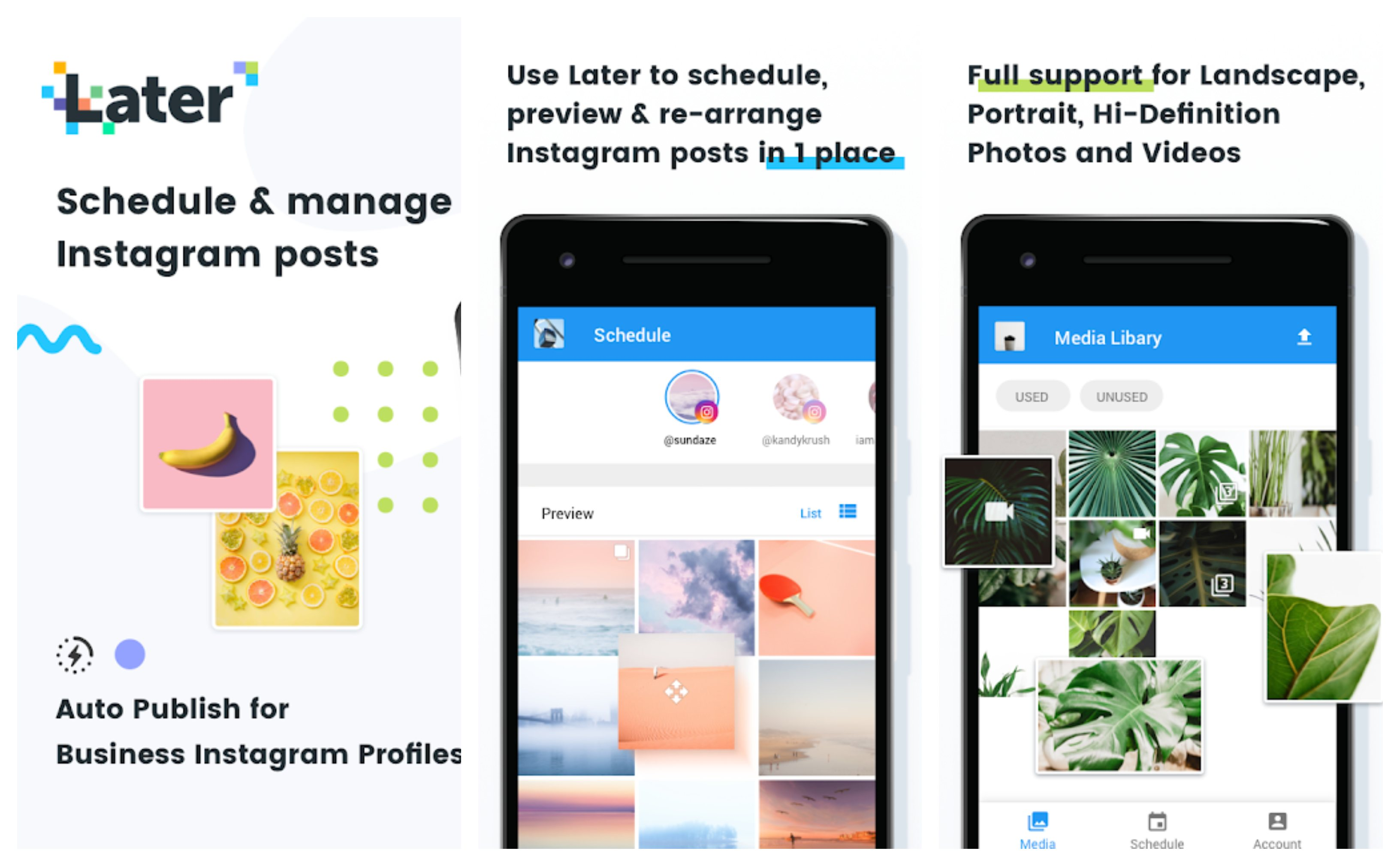 Later Best Instagram Story Template Apps