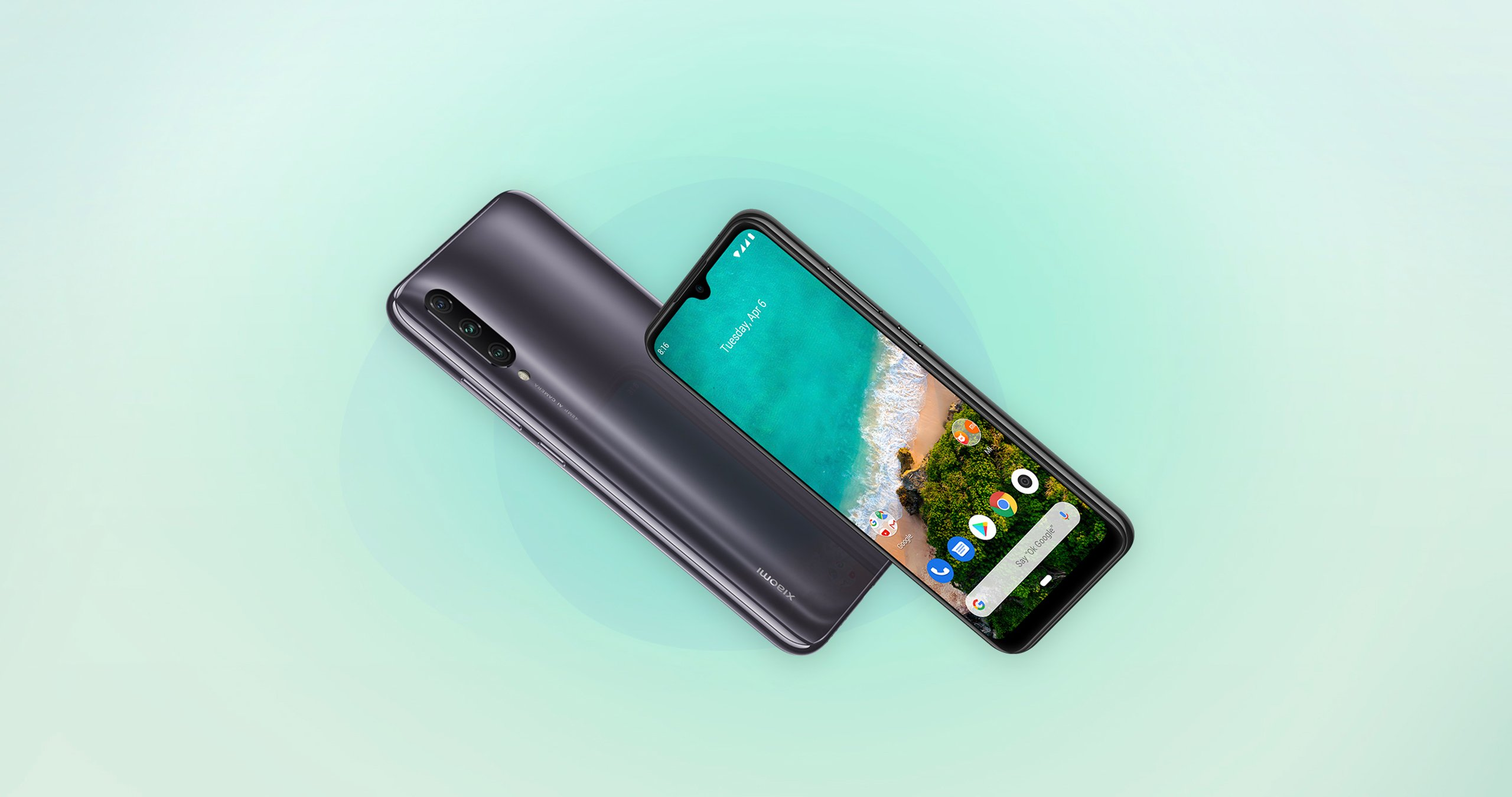 Xiaomi Mi A3 Official with Snapdragon 665 & 4,030mAh battery
