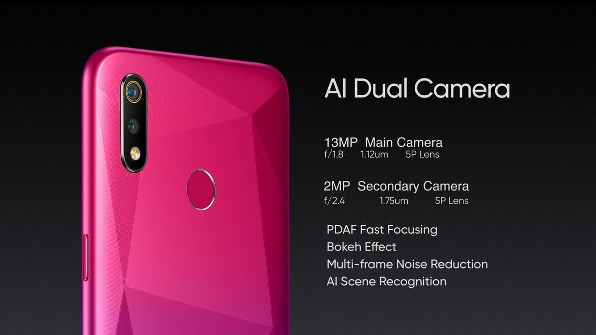 Realme 3i Rear Camera
