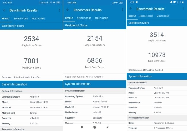 Snapdragon 730 vs Snapdragon 845 Comparison