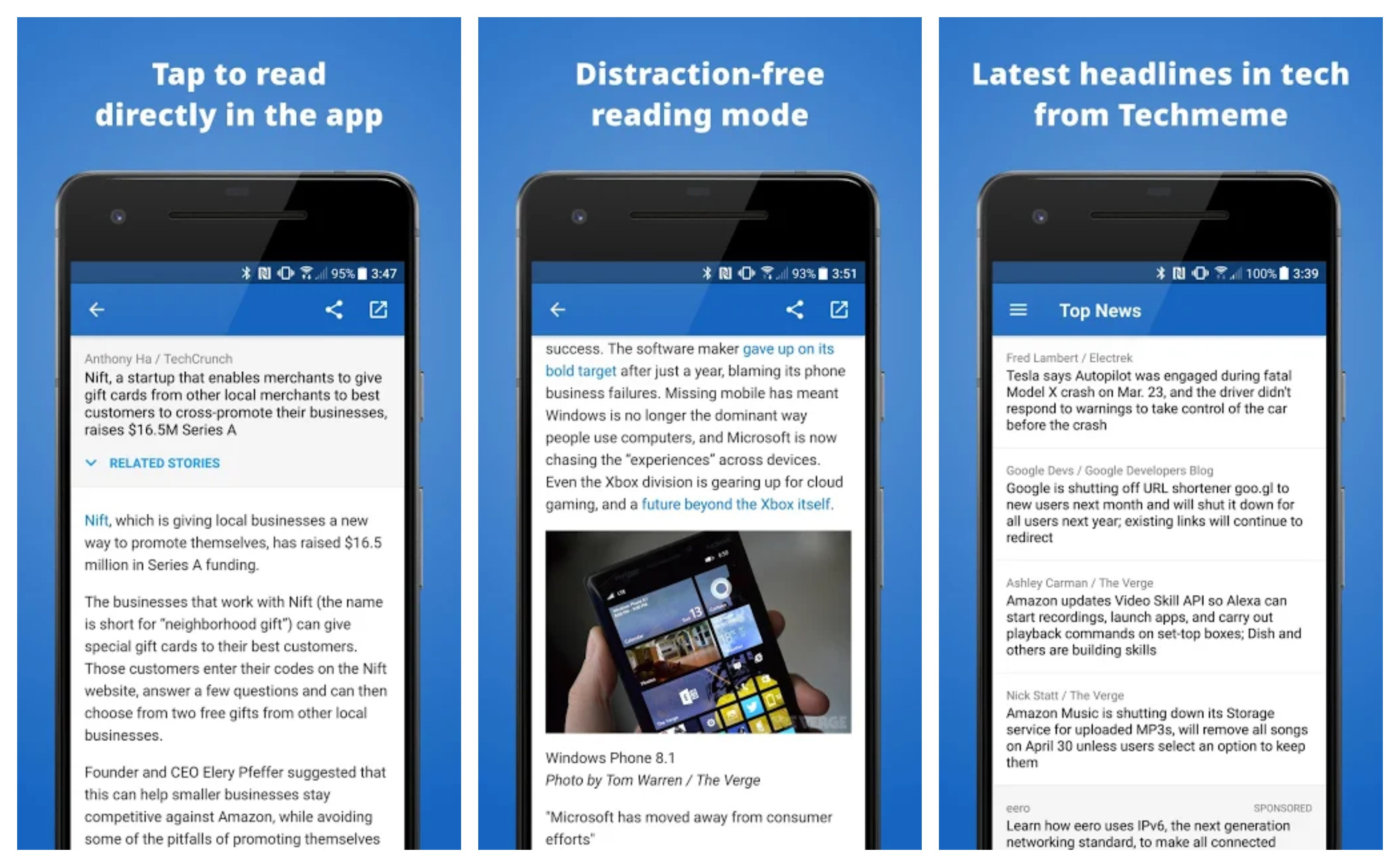 Techmeme Best technology news apps for android