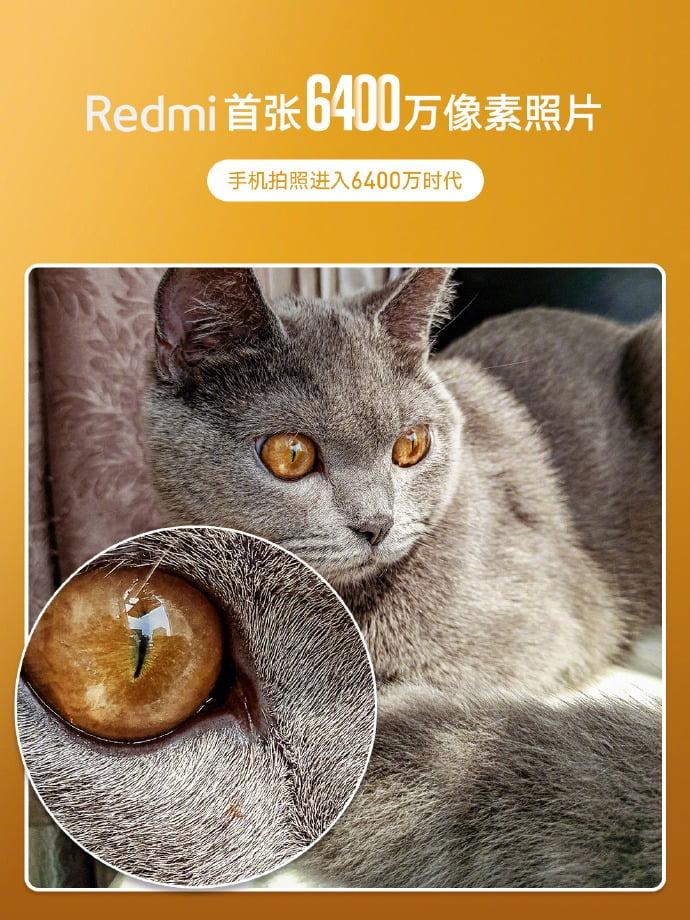 [UPDATE - Quad Cameras] Redmi smartphone with 64MP camera sensor teased
