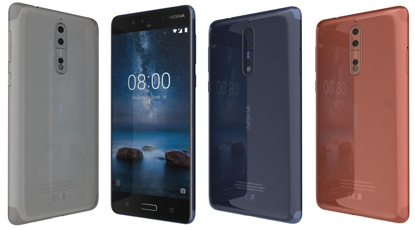 Nokia 8 Launched in September 2017