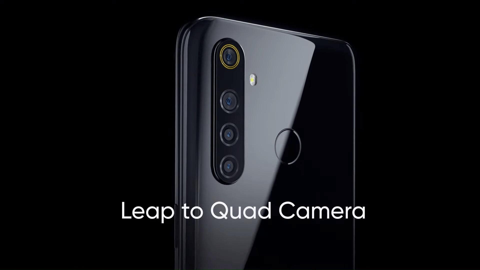 Realme 5 has Quad Cameras