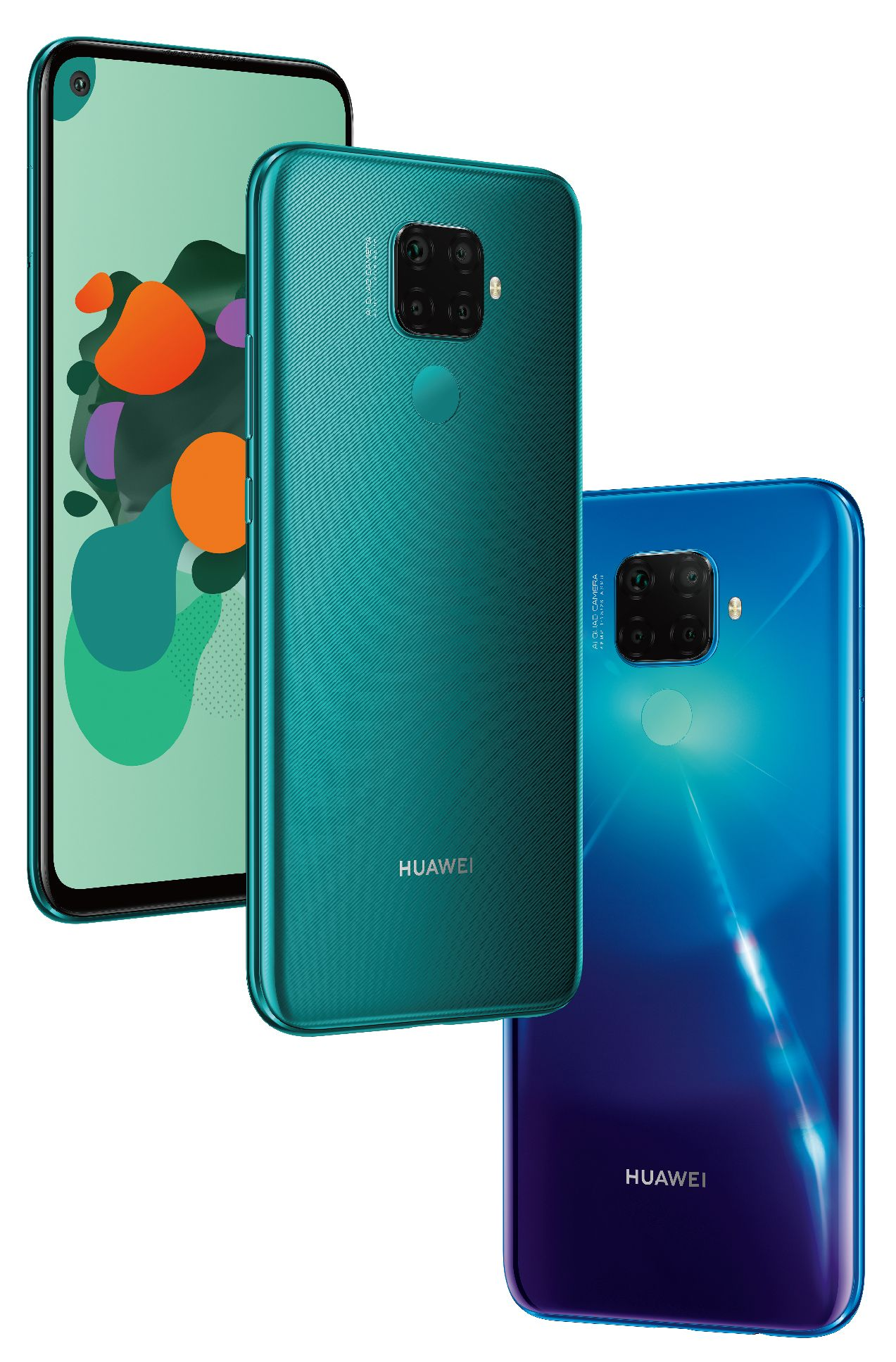 Here are the Huawei Mate 30 & Mate 30 Pro official renders