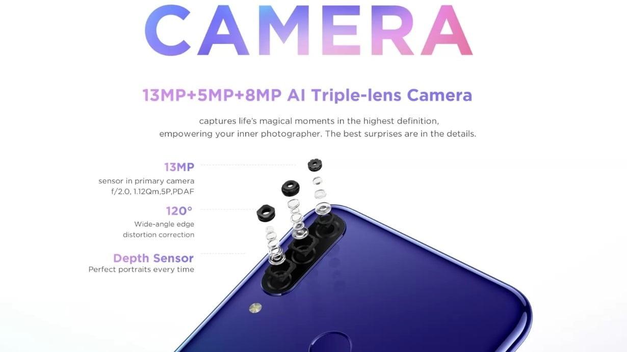 Lenovo K10 Plus Camera