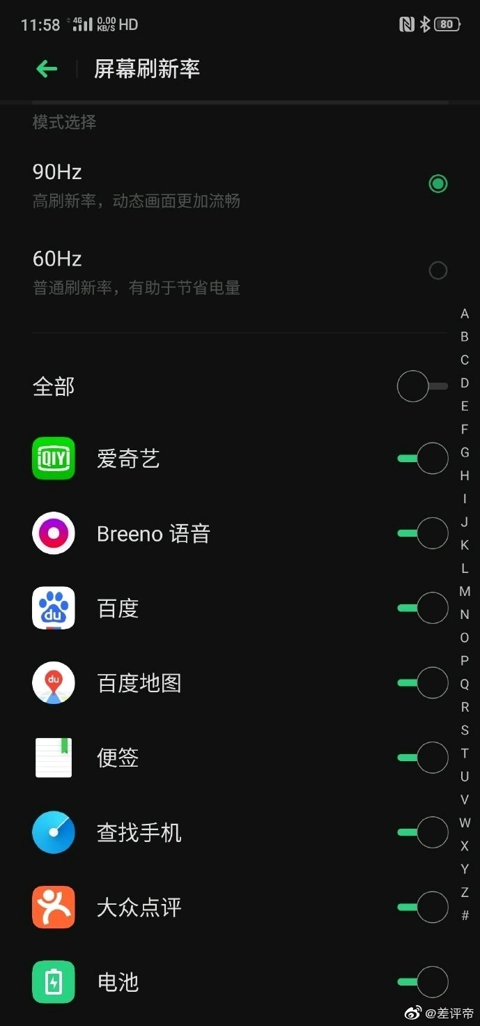 Realme X2 Pro has a 90Hz Display