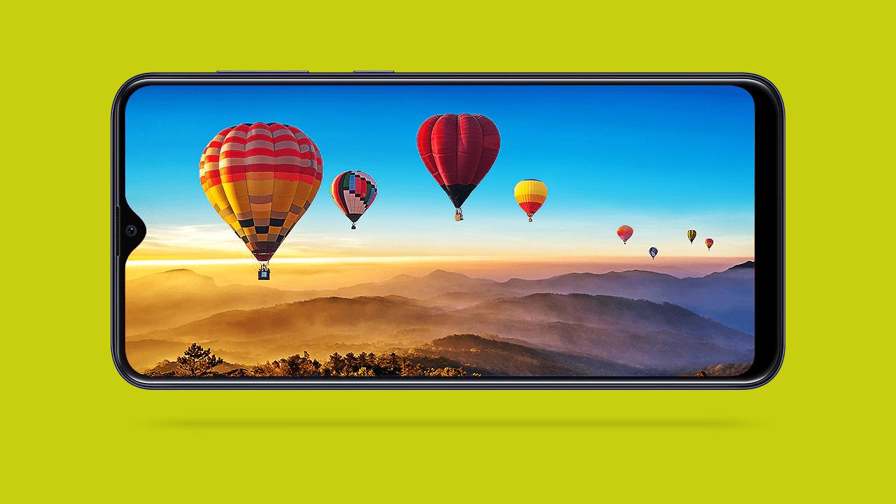 Samsung Galaxy M10s Display