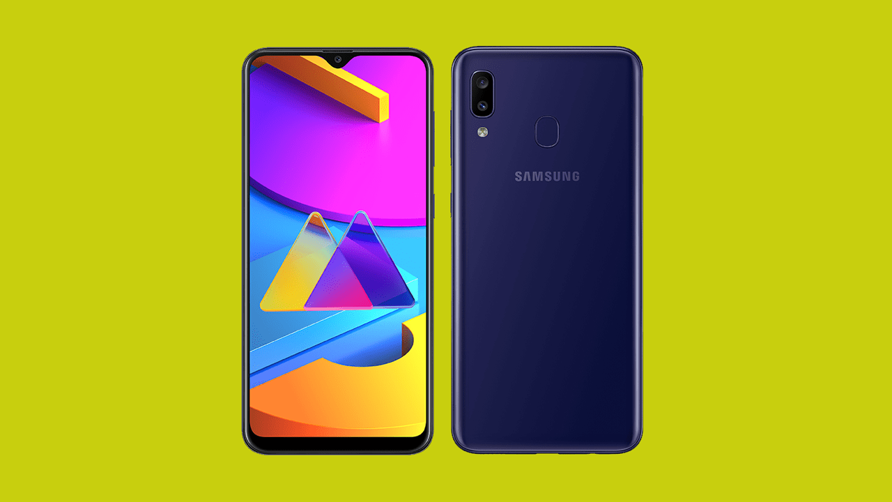 Samsung Galaxy M10s Design