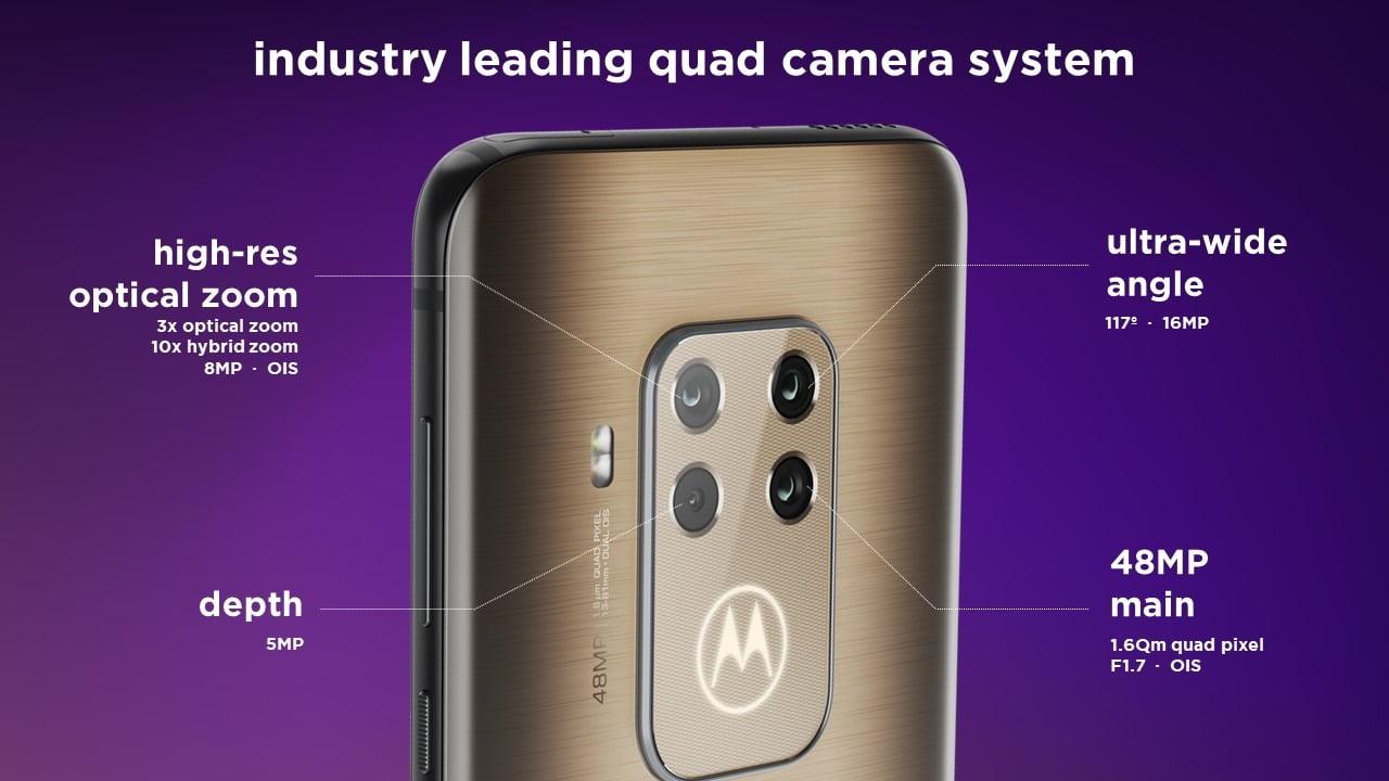 Motorola One Zoom Quad Cameras