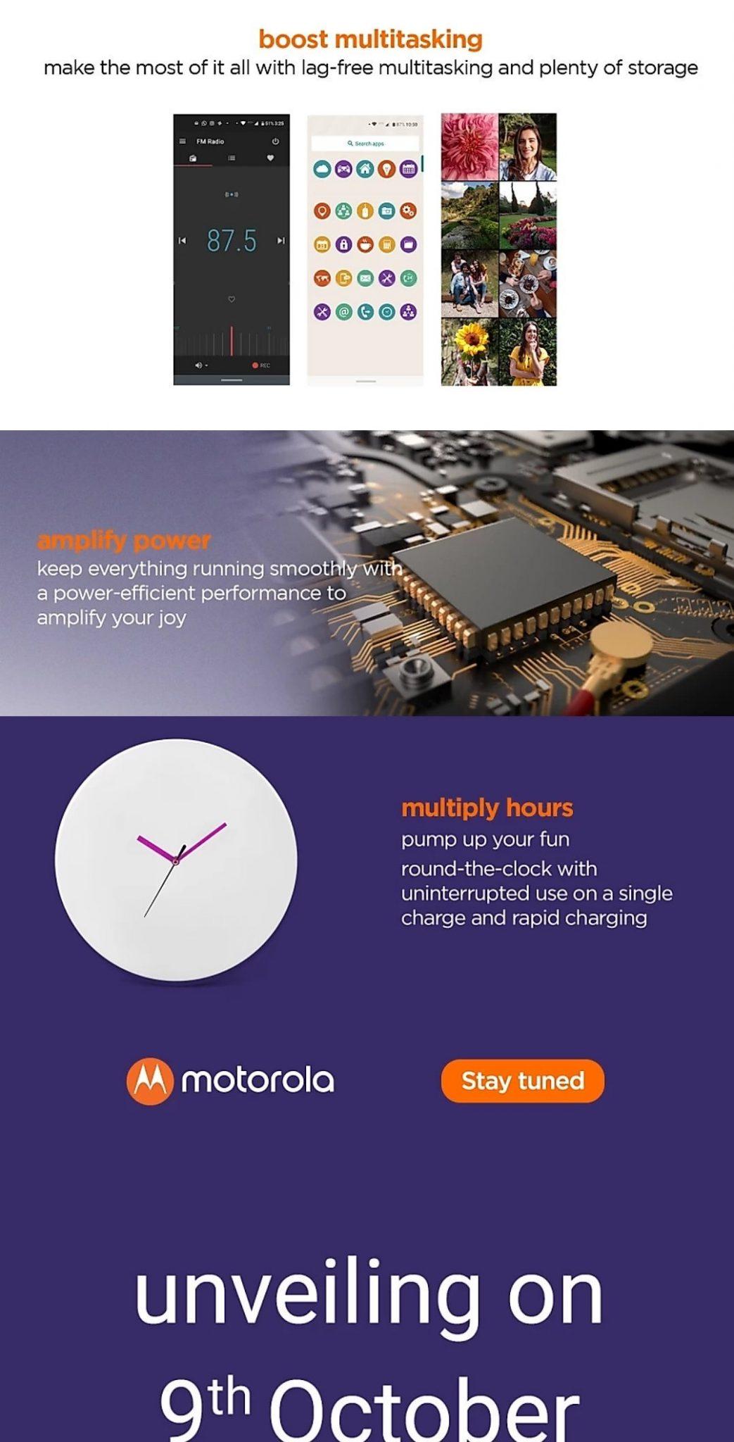 Motorola One Macro to launch on October 9 in India