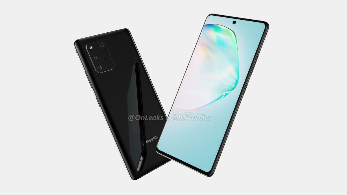 This is how the Samsung Galaxy A91 aka S10 Lite looks like