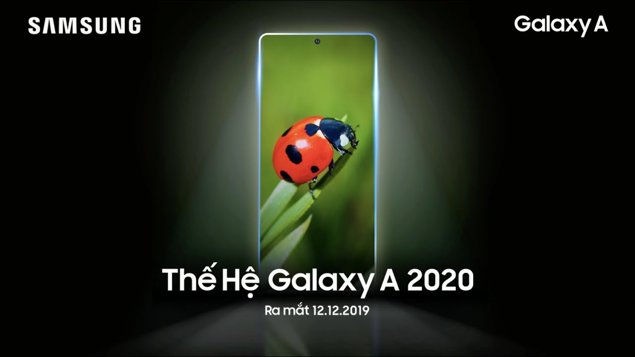 Samsung Galaxy A series 2020