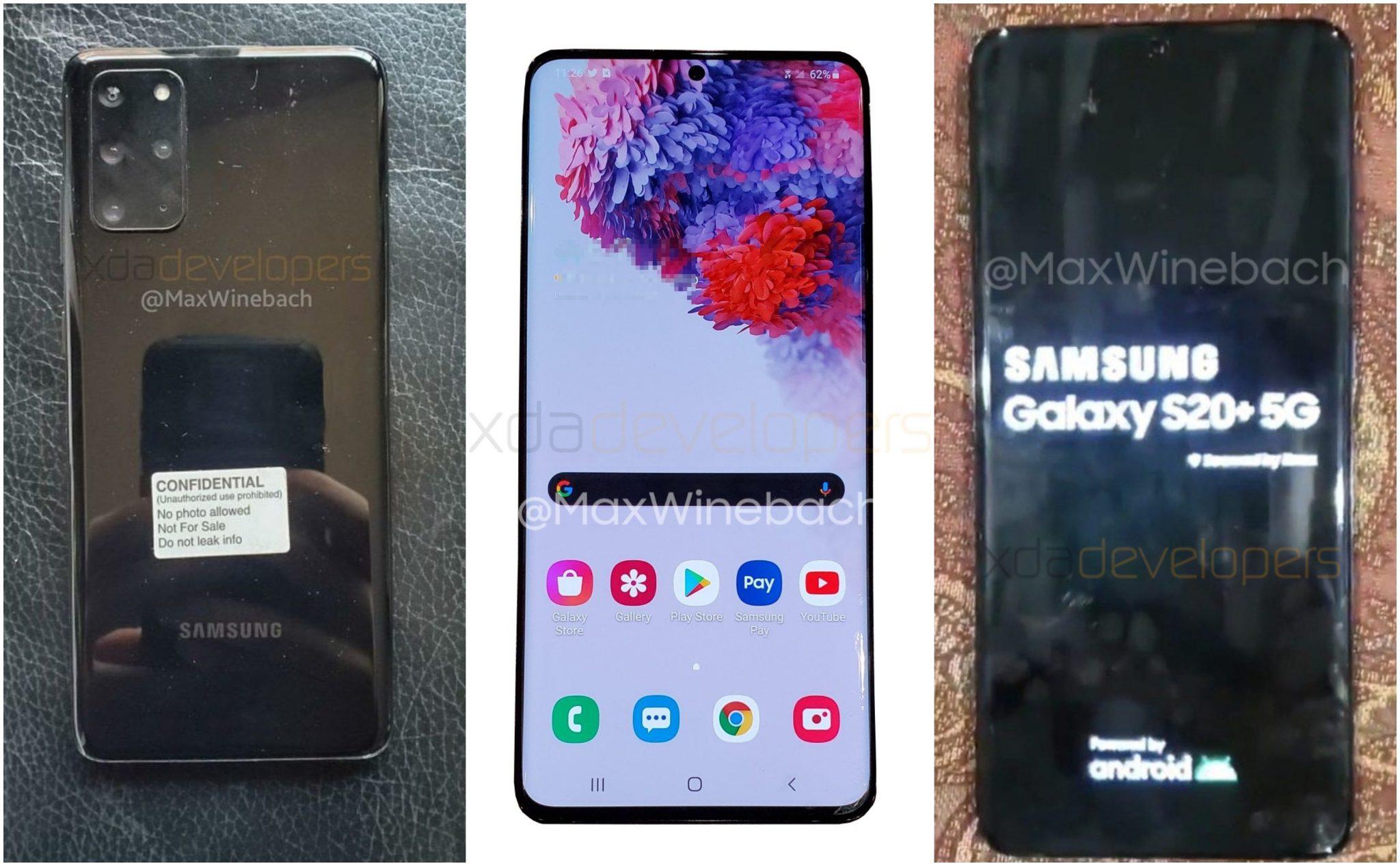 Samsung Galaxy S20+ 5G Live