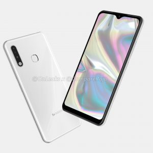 Samsung Galaxy A70e CAD renders reveal the design