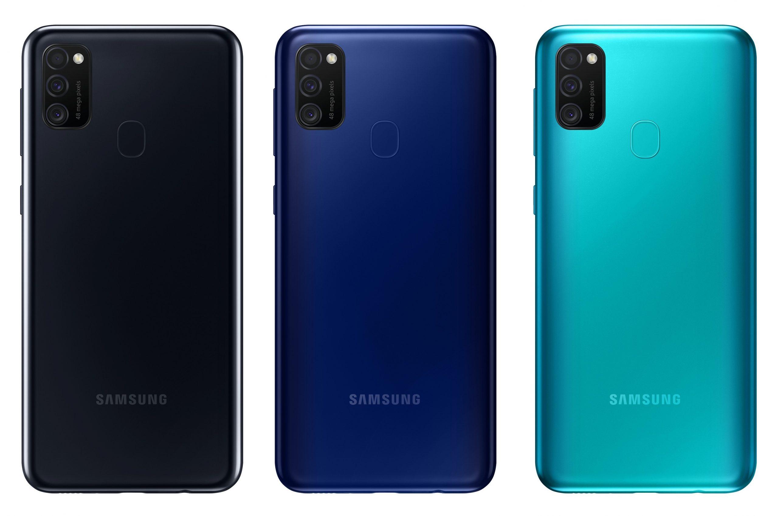 Samsung Galaxy M21 Rear Design