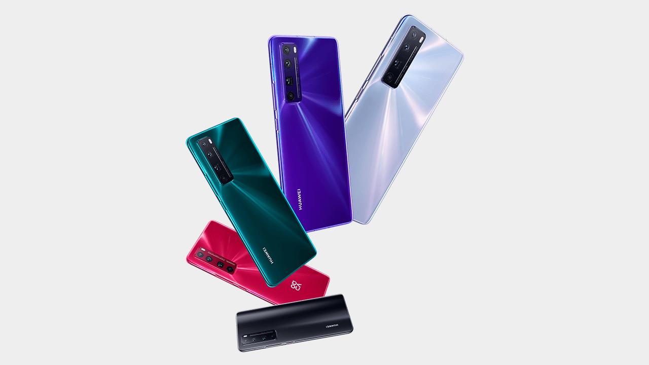 Huawei Nova 7 Pro Colors