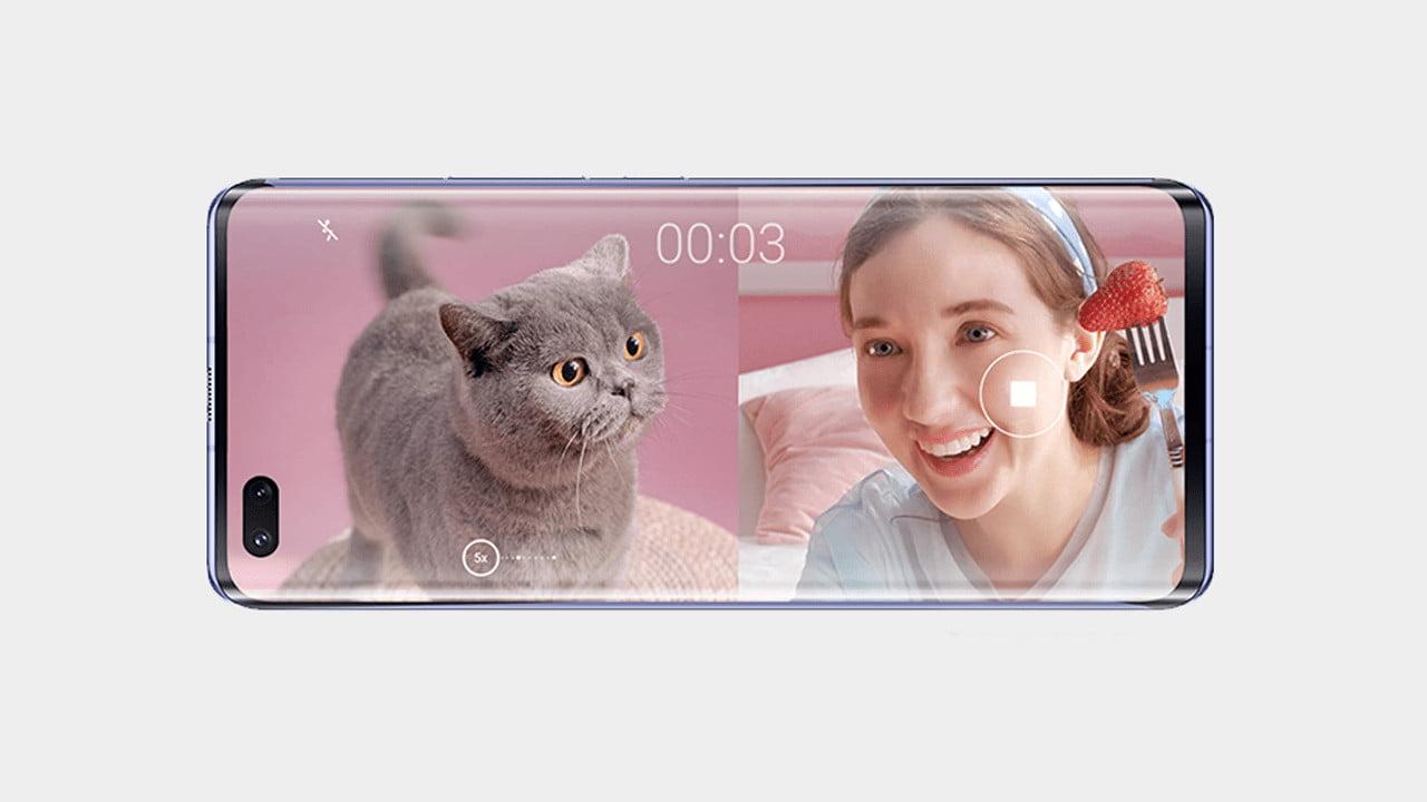 Huawei Nova 7 Pro Dual Selfie Cameras