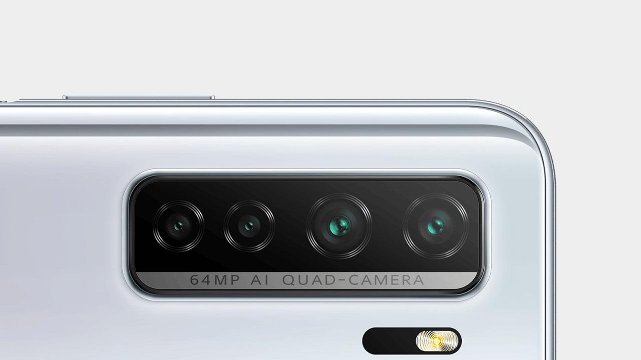 Huawei Nova 7 SE Quad Cameras