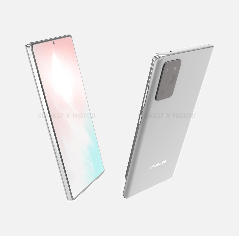 Samsung Galaxy Note 20 CAD Render