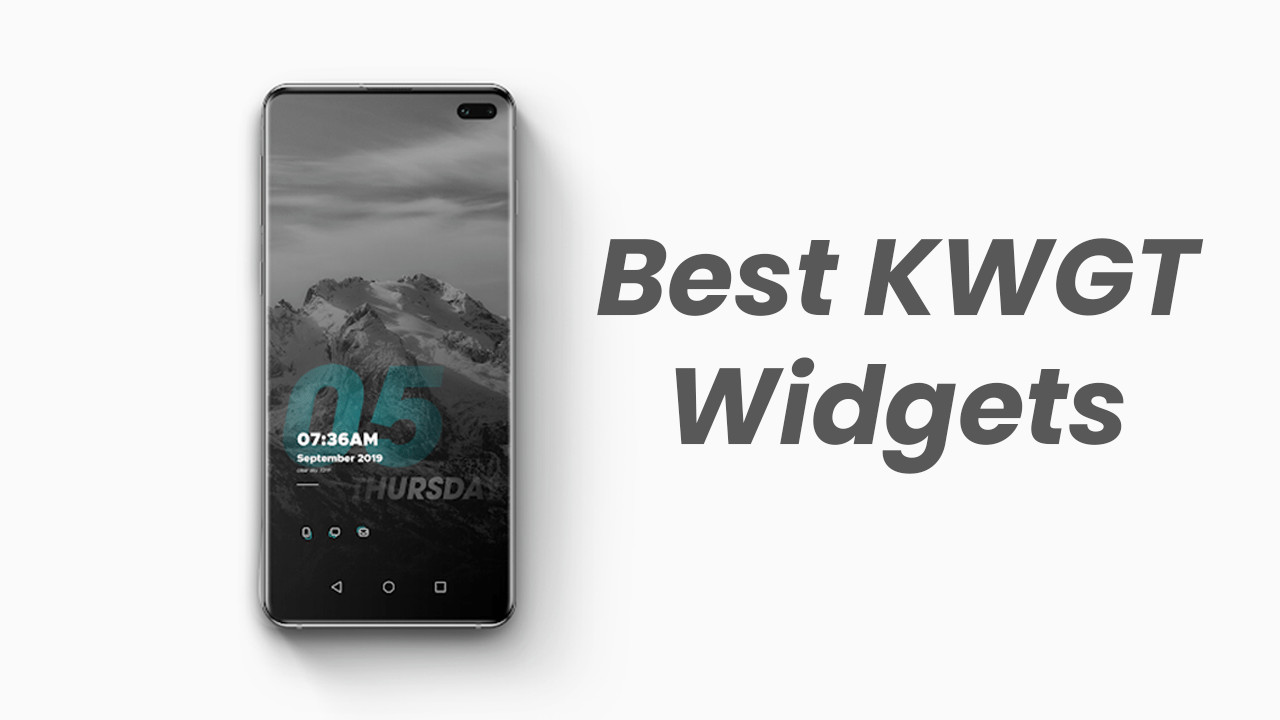 Best KWGT Widgets