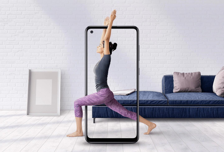 Samsung Galaxy A21s Display