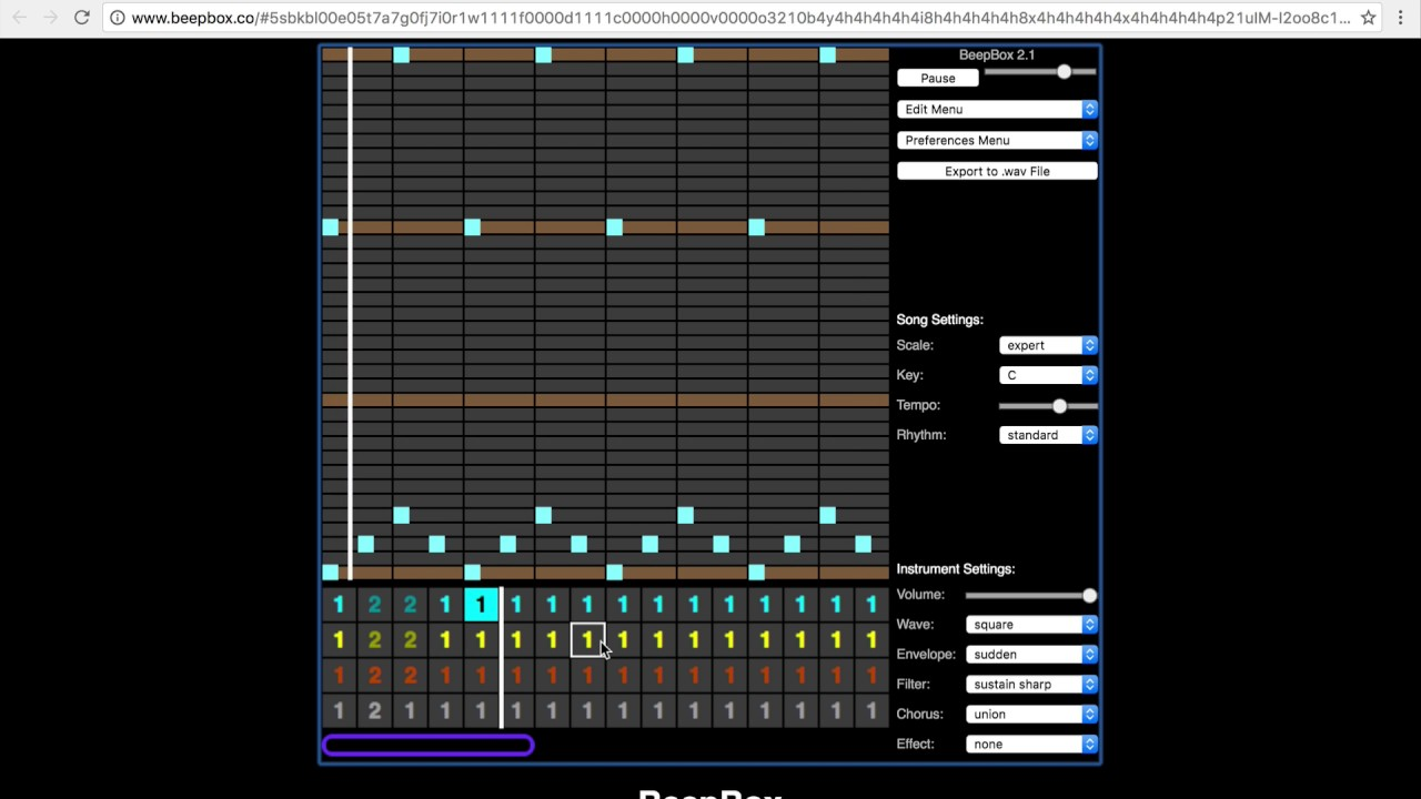 8-bit music Maker Android