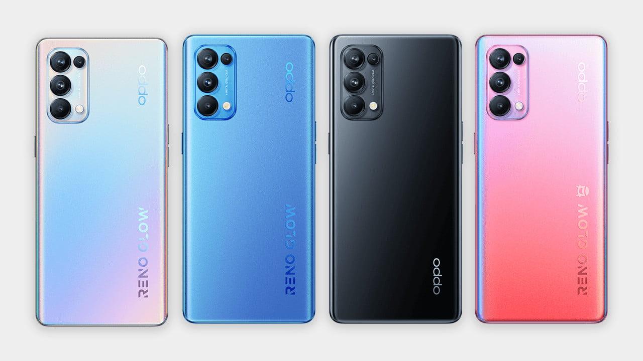 Oppo Reno5 Pro Colors