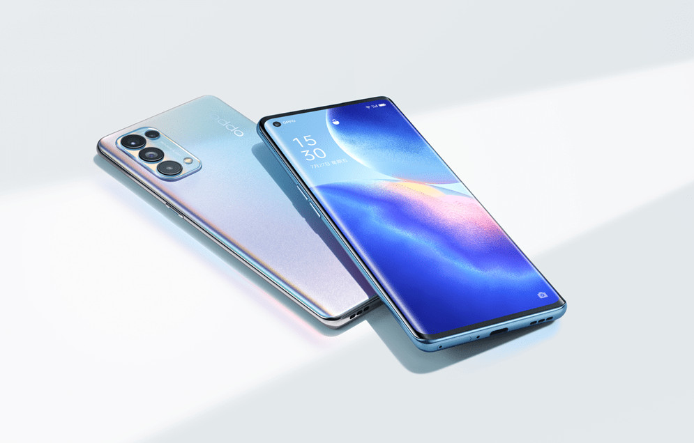 This is the Oppo Reno5 Pro