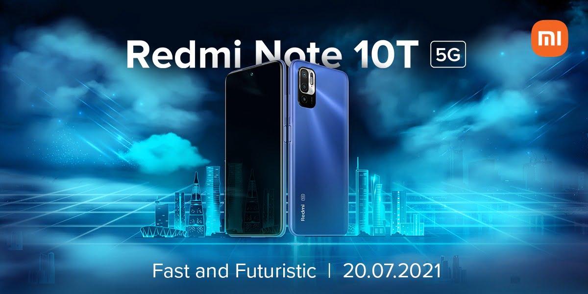 Redmi Note 10T 5G launch Date in India